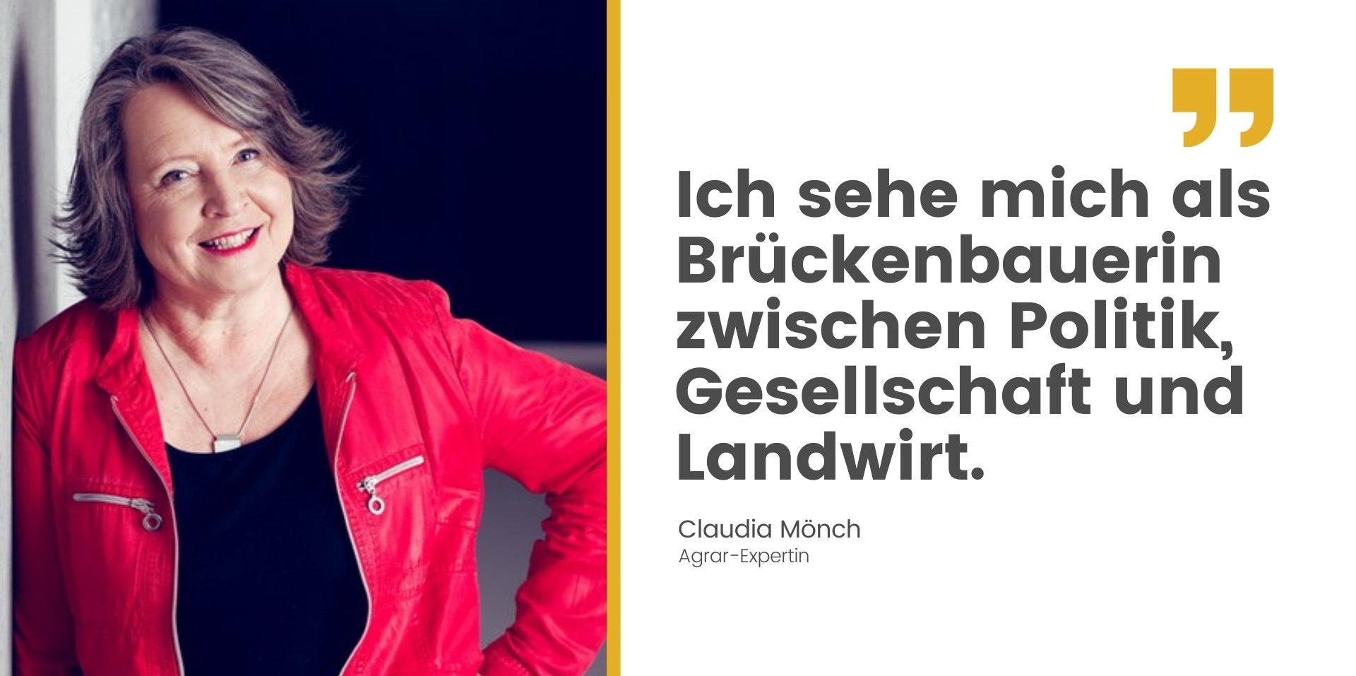 Zusammenarbeit Claudia Mönch Agrarexpertin